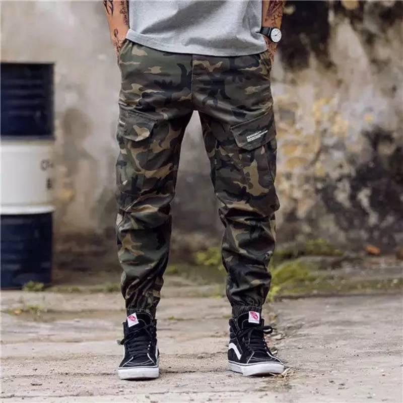 Comfortable Loose Breathable Cotton Men's Pants BOTTOMS Casual Pants / Trousers Men's Clothing & Accessories Pants Pants / Trousers