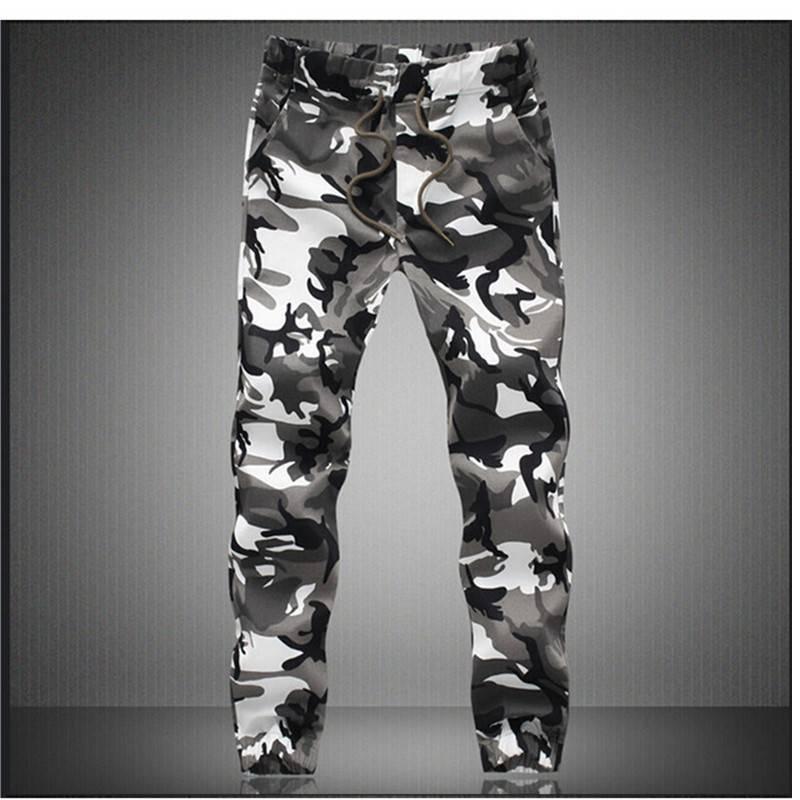 Camouflage Cotton Men's Pants BOTTOMS Casual Pants / Trousers Men's Clothing & Accessories Pants Pants / Trousers