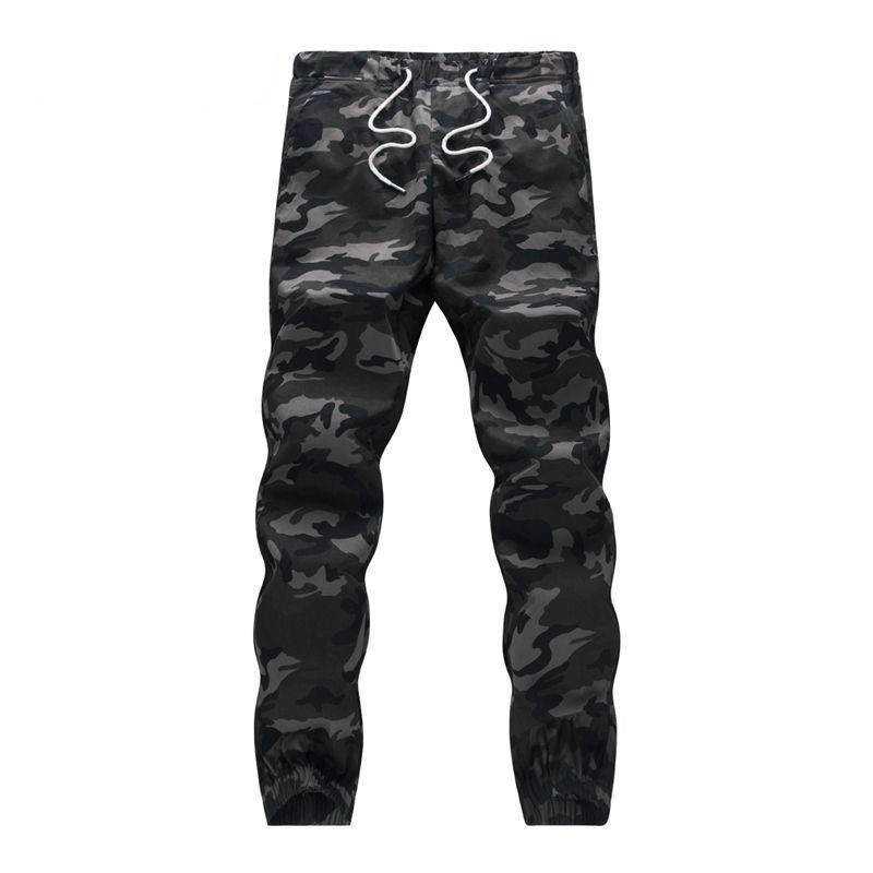 Men's Camouflage Cotton Harem Pants BOTTOMS Casual Pants / Trousers Men's Clothing & Accessories Pants Pants / Trousers