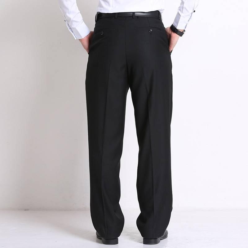 Men's Classic Loose Business Pants BOTTOMS Formal Pants / Trousers Men's Clothing & Accessories Pants Pants / Trousers