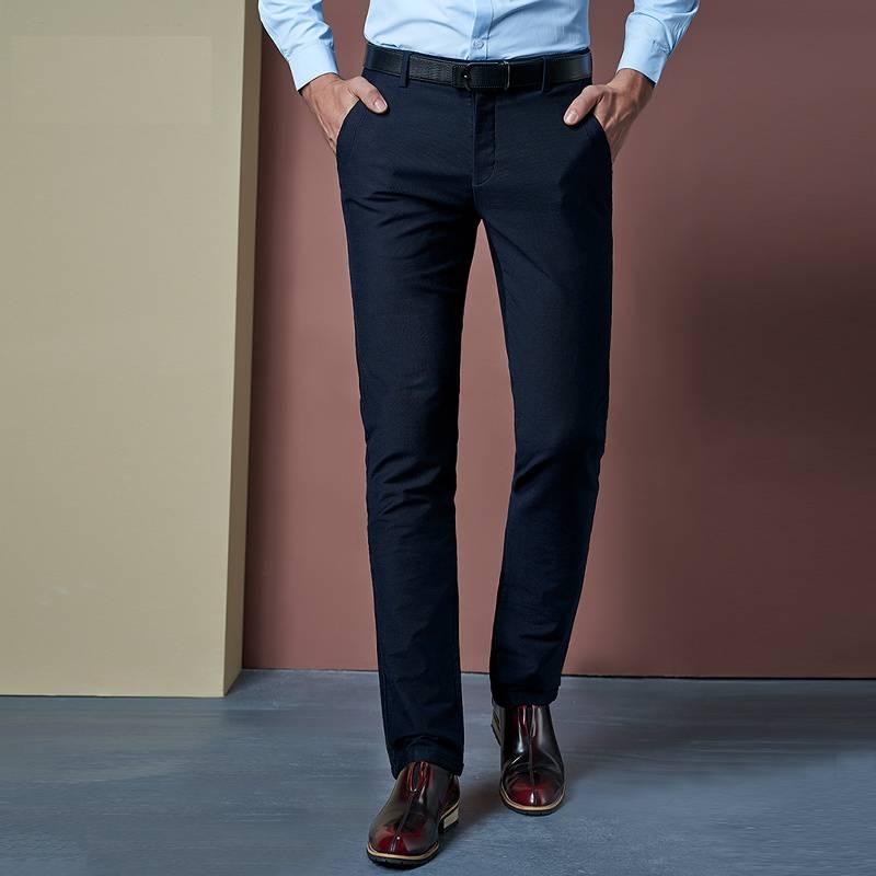 Stretch Office Men's Pants BOTTOMS Formal Pants / Trousers Men's Clothing & Accessories Pants Pants / Trousers
