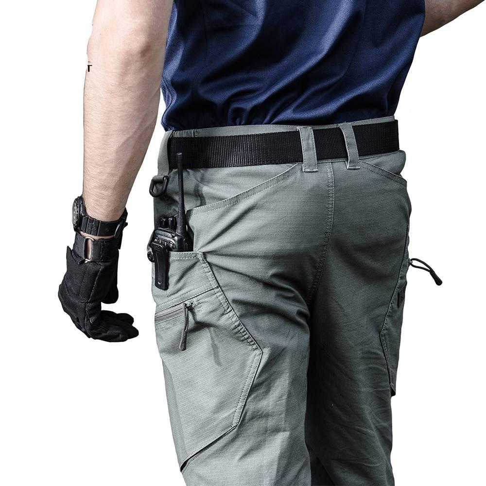 Comfortable Wear-Resistant Men's Cotton Cargo Pants BOTTOMS Casual Pants / Trousers Men's Clothing & Accessories Pants Pants / Trousers