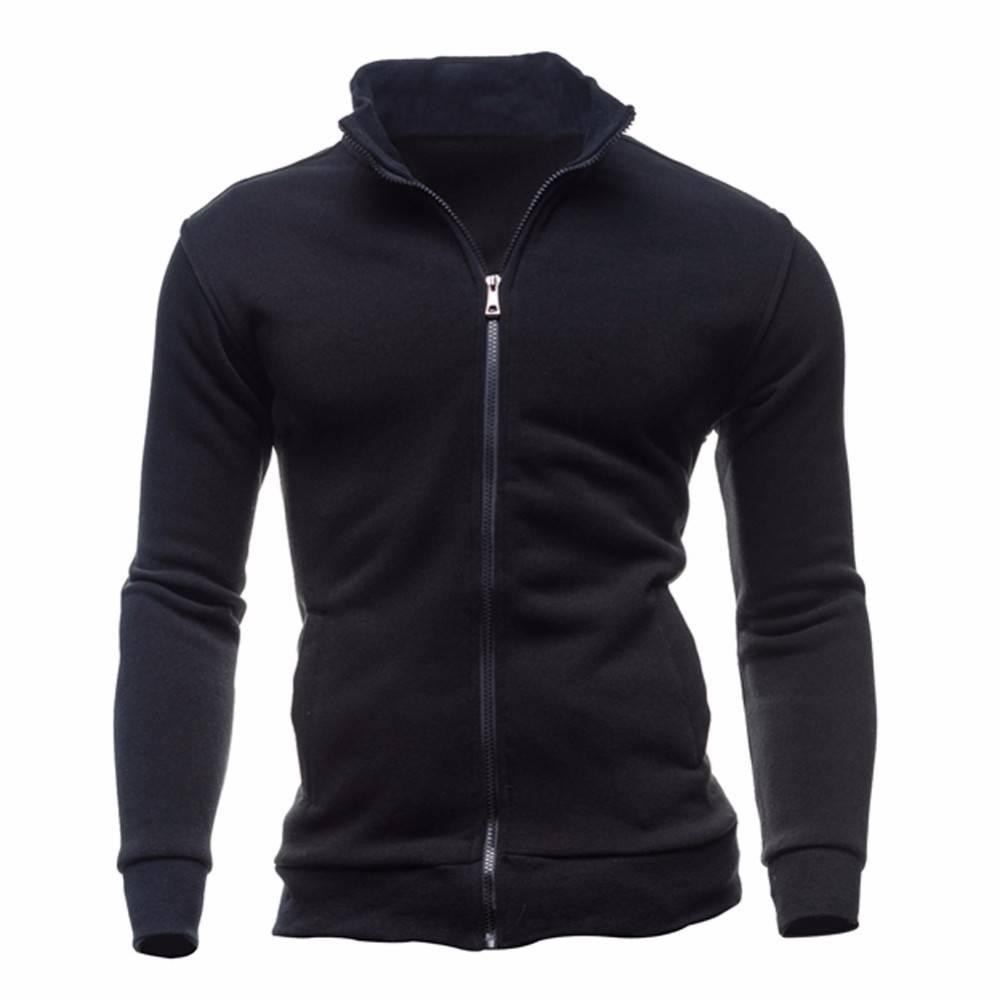 Men's High Collar Sweatshirts Hoodies & Sweatshirts Men's Clothing & Accessories Sweatshirts