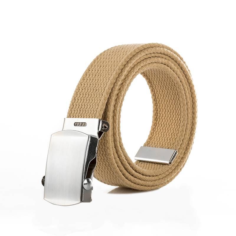 Men's Classic Canvas Belt Accessories Belts Men's Clothing & Accessories