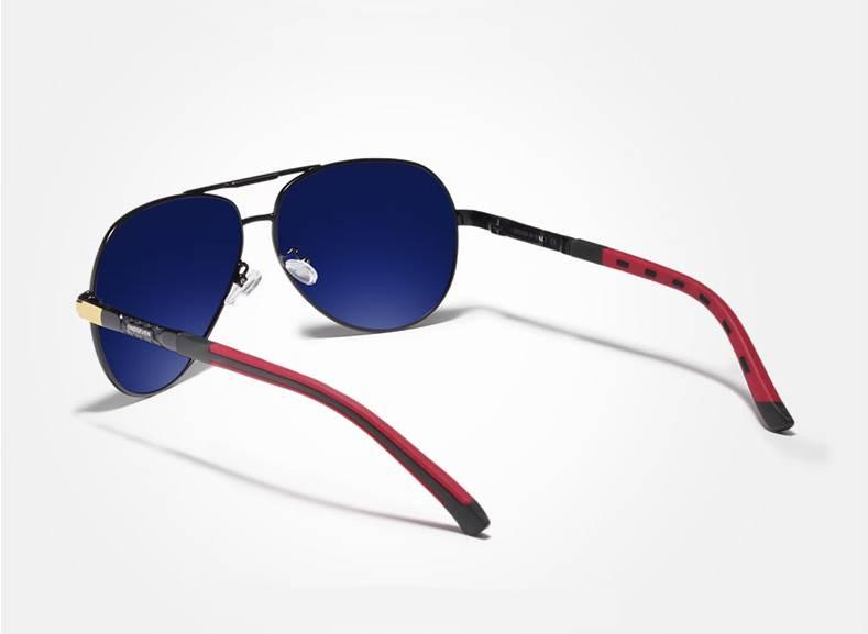 Men's Classic Design Polarized Aluminum Sunglasses Men's Sunglasses Sunglasses & Glasses