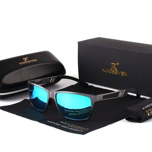 Sport Styled Men's Sunglasses Men's Sunglasses Sunglasses & Glasses Lenses Color : Black|Gray|Gray Blue|Black Red