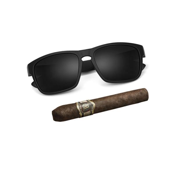 Stylish Sunglasses for Men with Polarized Lenses Men's Sunglasses Sunglasses & Glasses Color : Black Matte Black Dark Blue Brown