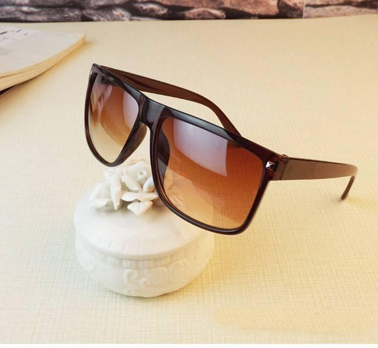 Men's Vintage Square Frame Sunglasses Men's Sunglasses Sunglasses & Glasses