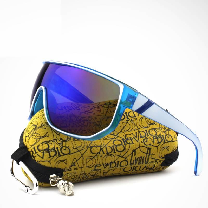 Men's Oversized Sunglasses with Designer Case Men's Sunglasses Sunglasses & Glasses