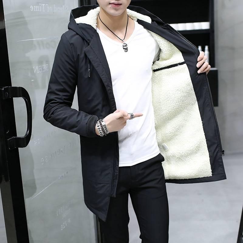 Men's Hooded Winter Parka Jackets & Coats Men's Clothing & Accessories Parkas