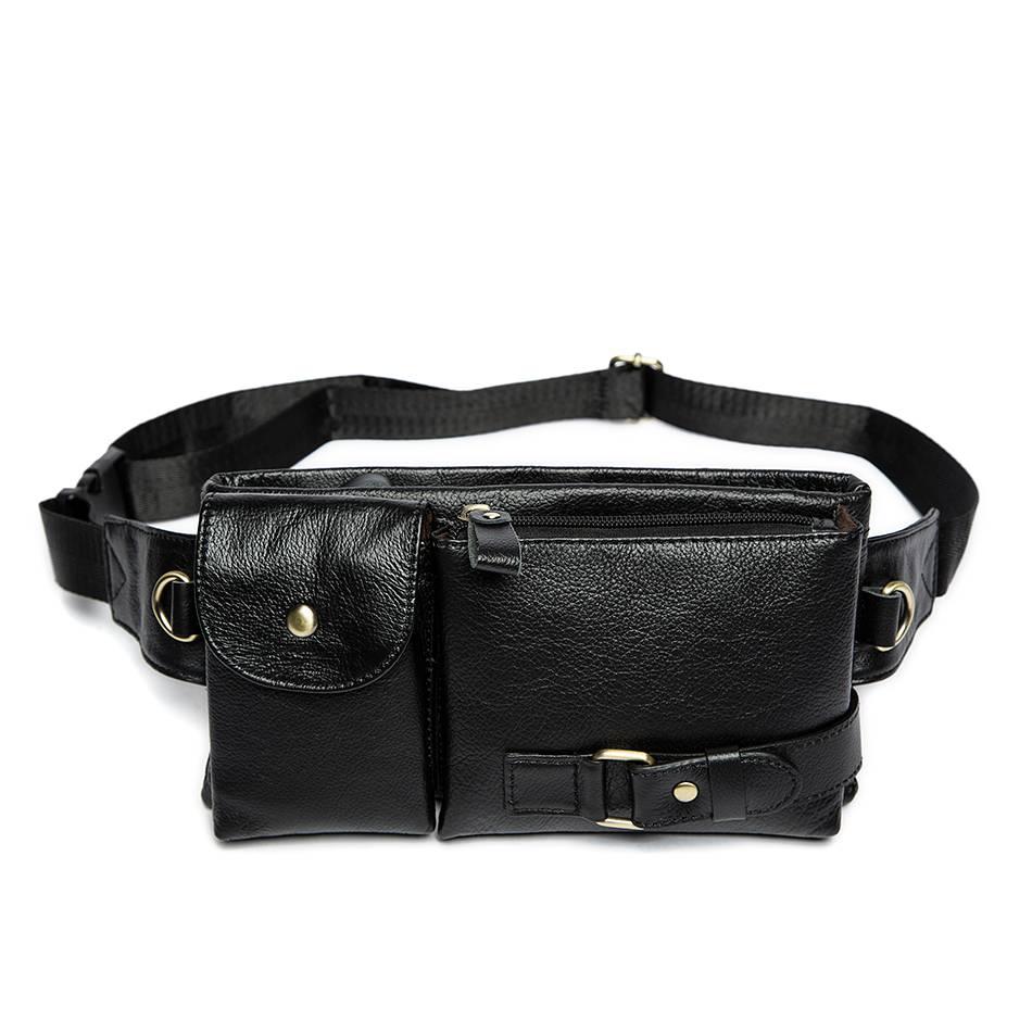 Men's Vintage Waist Pack Bags & Wallets Waist Bags