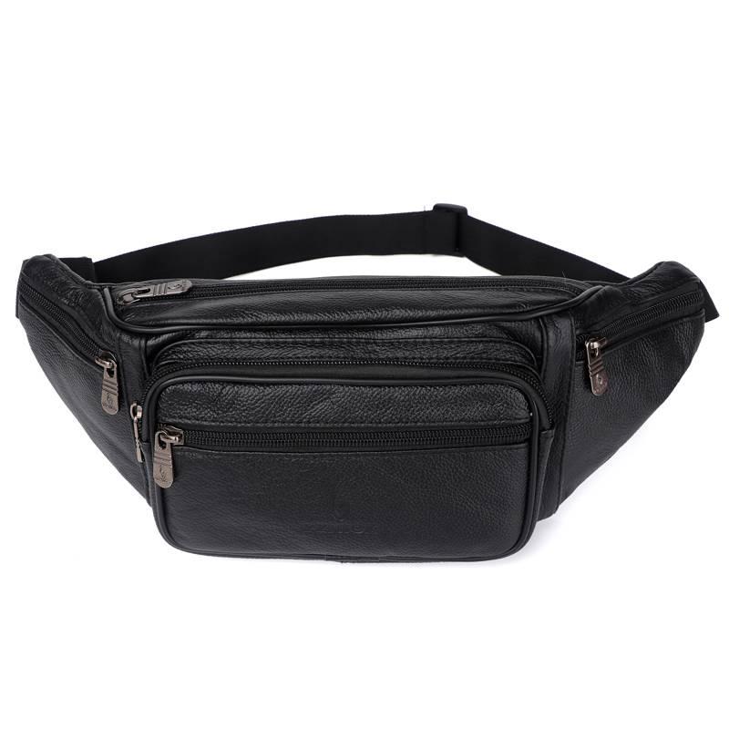 Solid Patterned Men's Waist Bag Bags & Wallets Waist Bags