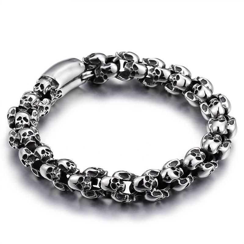 Men's Skulls Shaped Bracelet Bracelets Men Jewelry