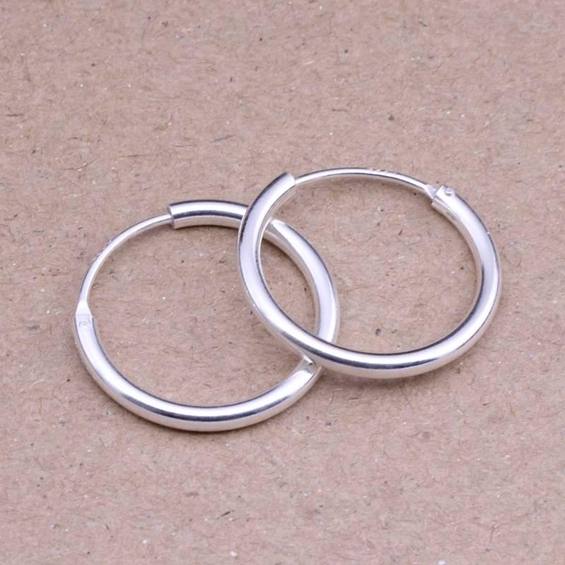 Round Hoop Earrings Earrings Men Jewelry