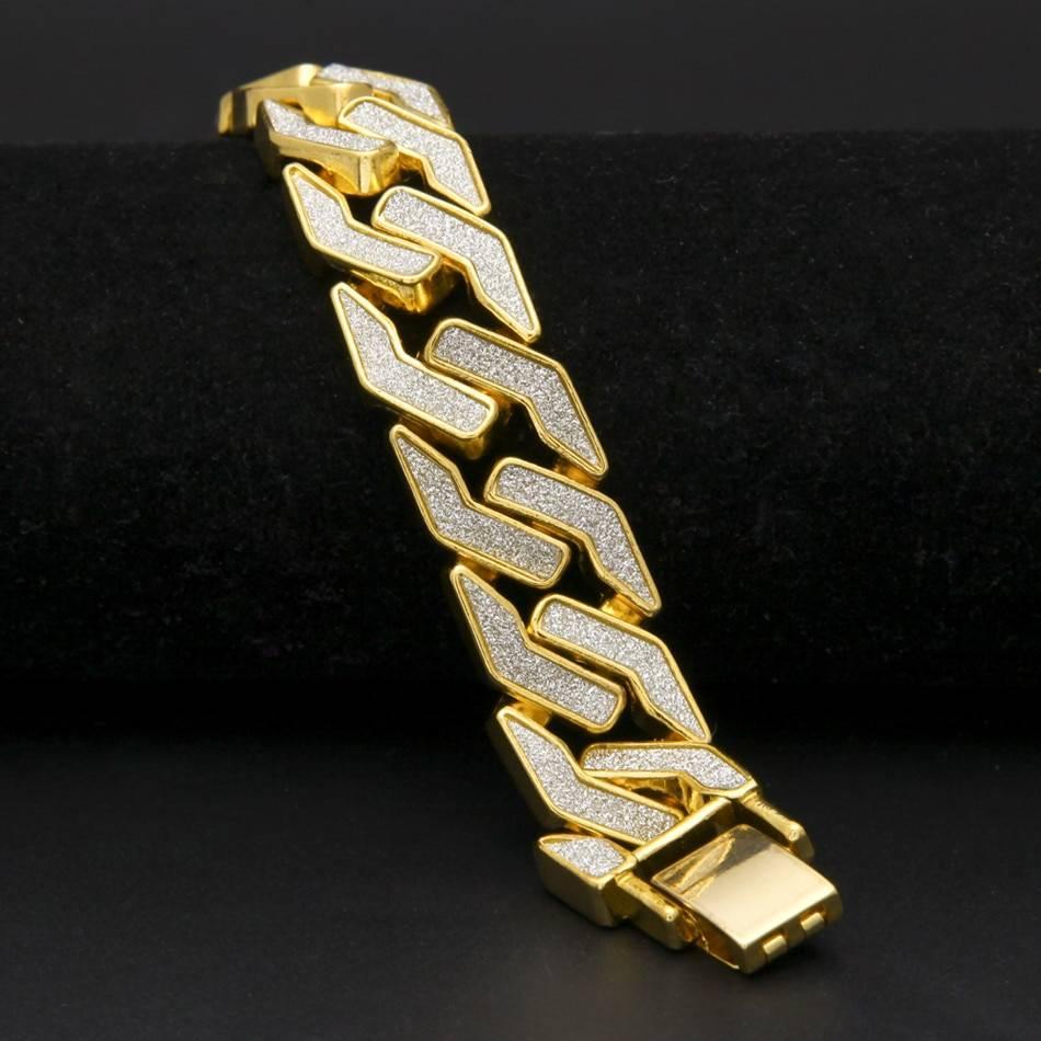Men's Cuban Chain Bracelet Bracelets Men Jewelry