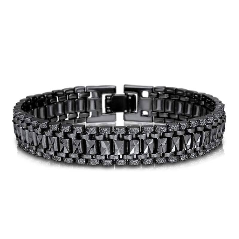 Casual Punk Rock Style Men's Chain Link Bracelet Bracelets Men Jewelry