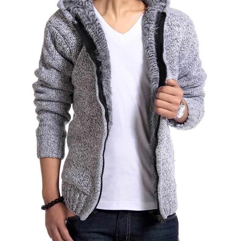 Men's Winter Zipper Hoodie Hoodies Hoodies & Sweatshirts Men's Clothing & Accessories