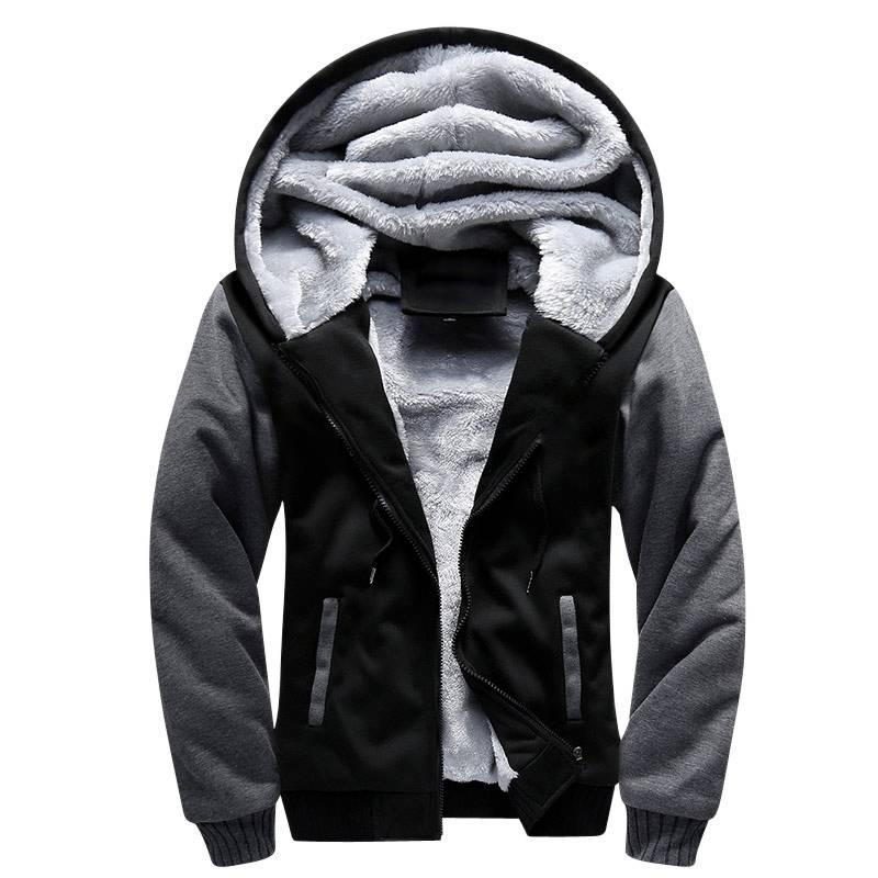Men's Fashion Fleece Jacket Hoodies Hoodies & Sweatshirts Jackets Men's Clothing & Accessories