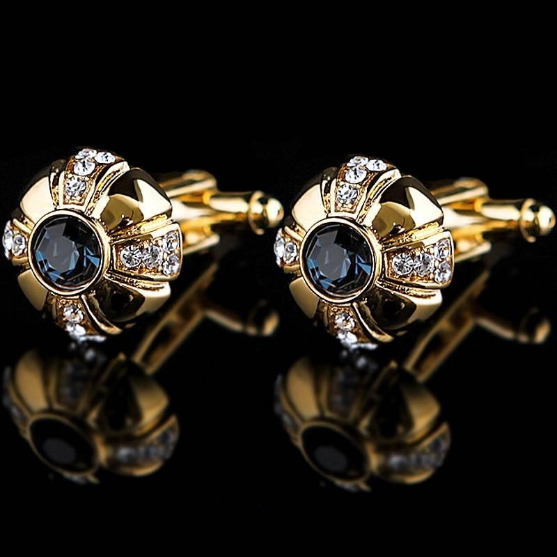 Luxury Cufflinks for Men Men Jewelry Tie Clips & Cufflinks