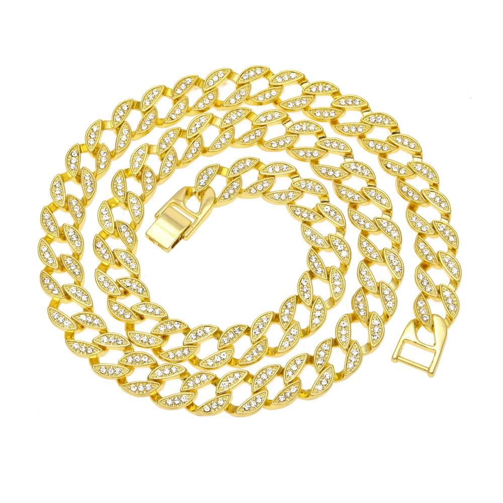 Men's Hip Hop Iced Out Cuban Chains Men Jewelry Necklaces