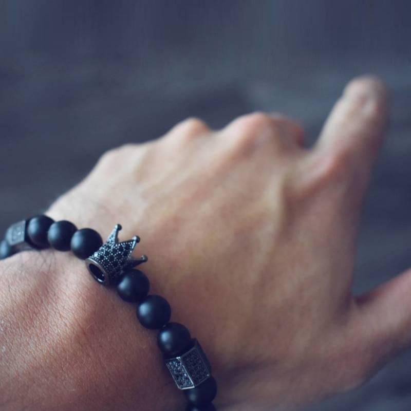 Crown Bracelet for Men Bracelets Men Jewelry