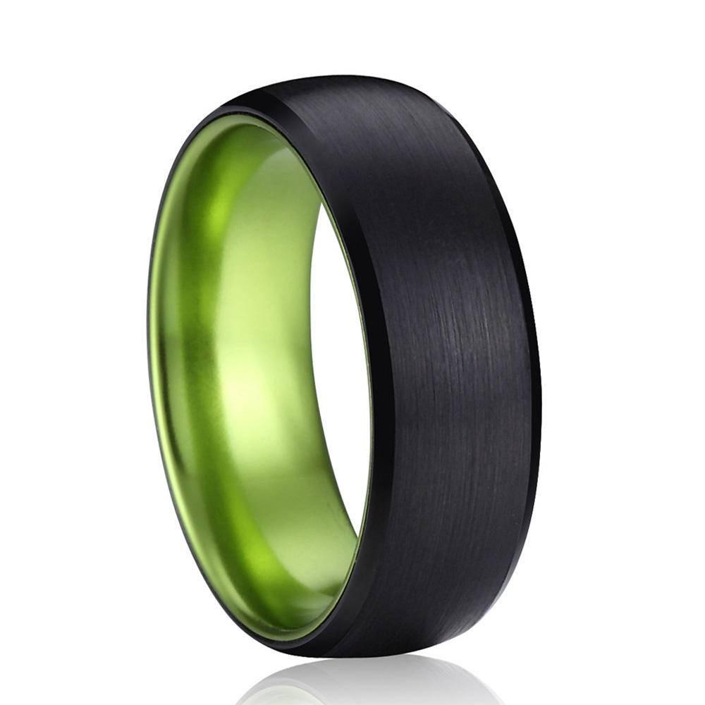 Men's Wedding Black Rings Men Jewelry Rings