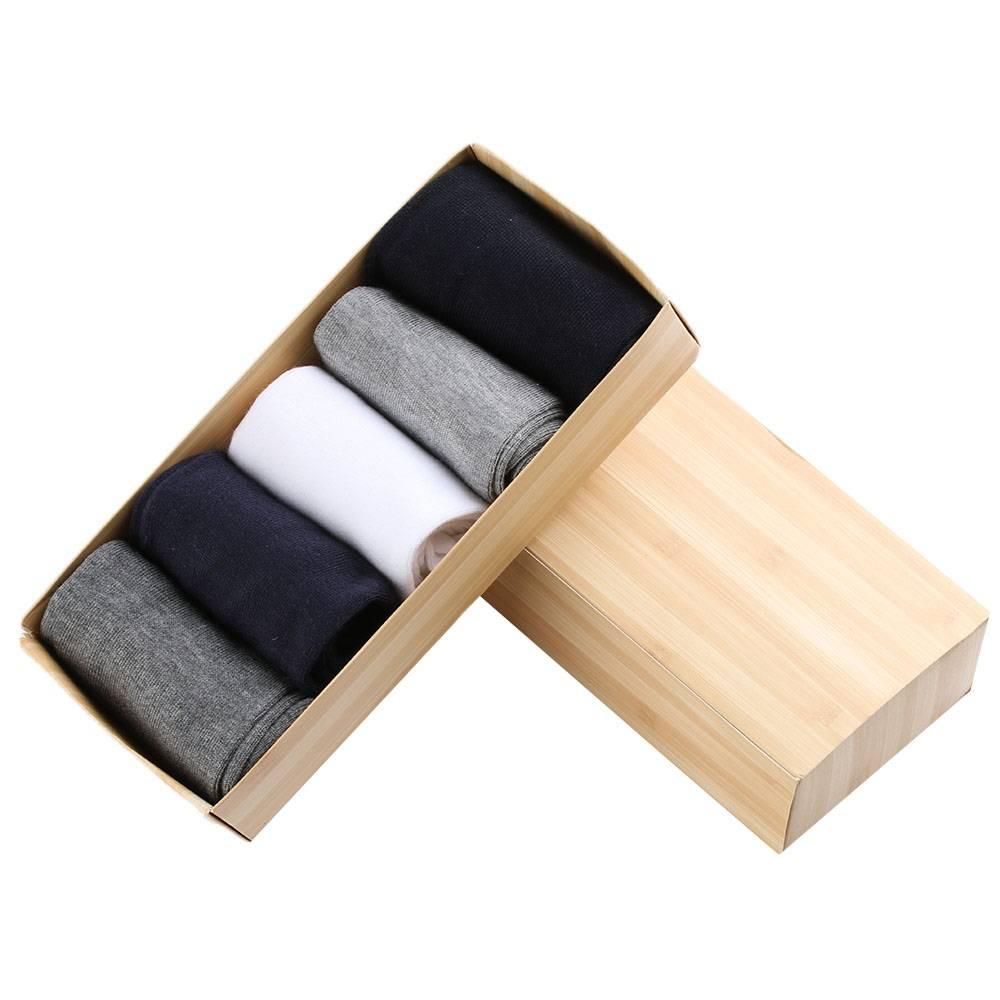 Men's Multicolorful Socks Pack Men Jewelry Tie Clips & Cufflinks