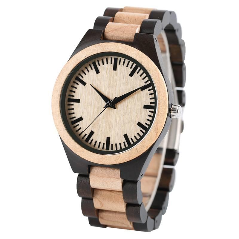 Quartz Wooden Watch for Men Men Jewelry Men's Watches