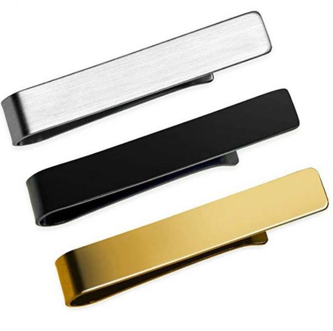 Elegant Set of Tie Clips without Pattern Men Jewelry Tie Clips & Cufflinks