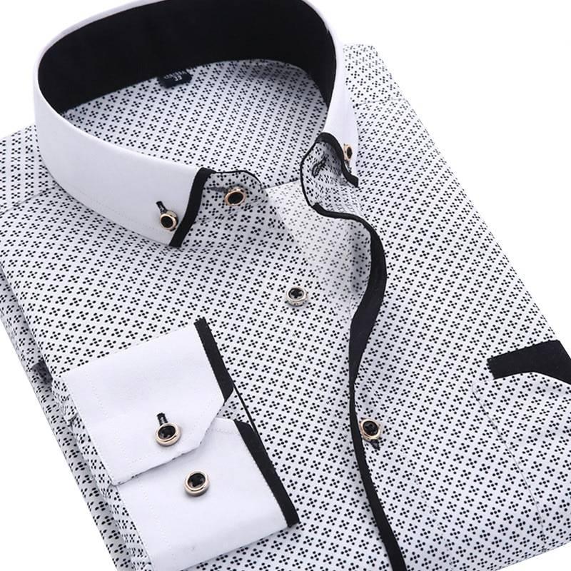 Men's Casual Printed Shirt Men's Clothing & Accessories Shirts