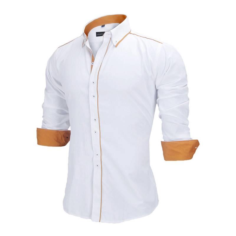 Slim Fit Men's Shirt Men's Clothing & Accessories Shirts