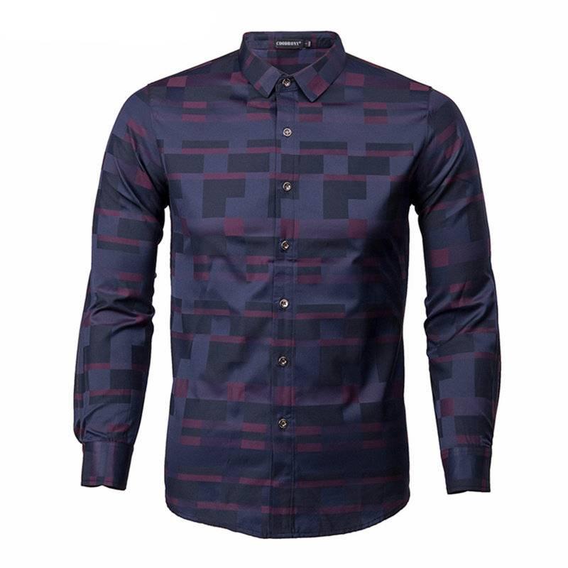 Men's Business Casual Shirt Men's Clothing & Accessories Shirts