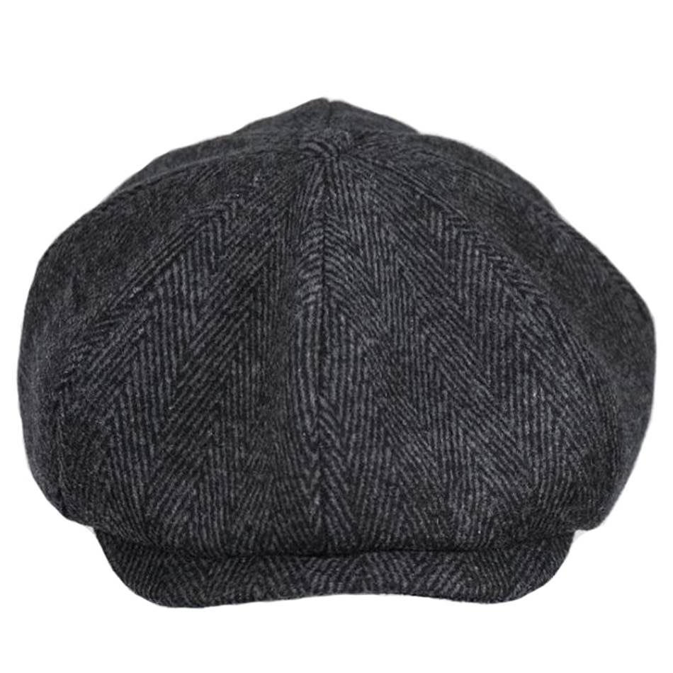 Men's Fashion Woolen Cap Accessories Hats & Caps Men's Clothing & Accessories