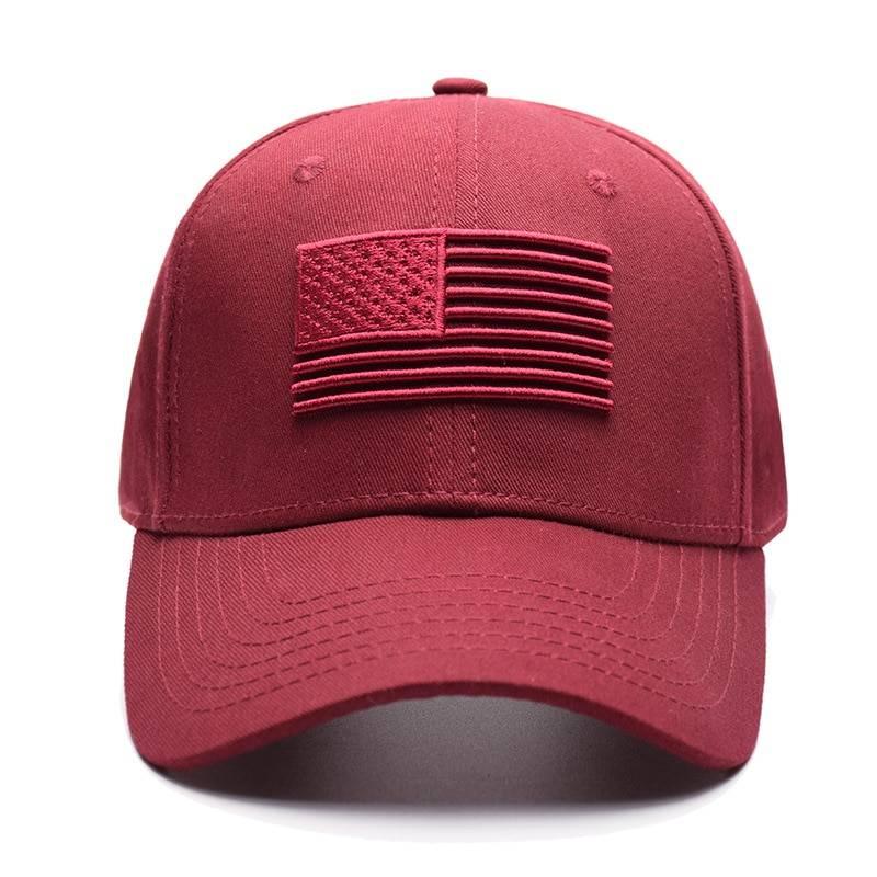 Men's Baseball Cap with American Flag Accessories Hats & Caps Men's Clothing & Accessories