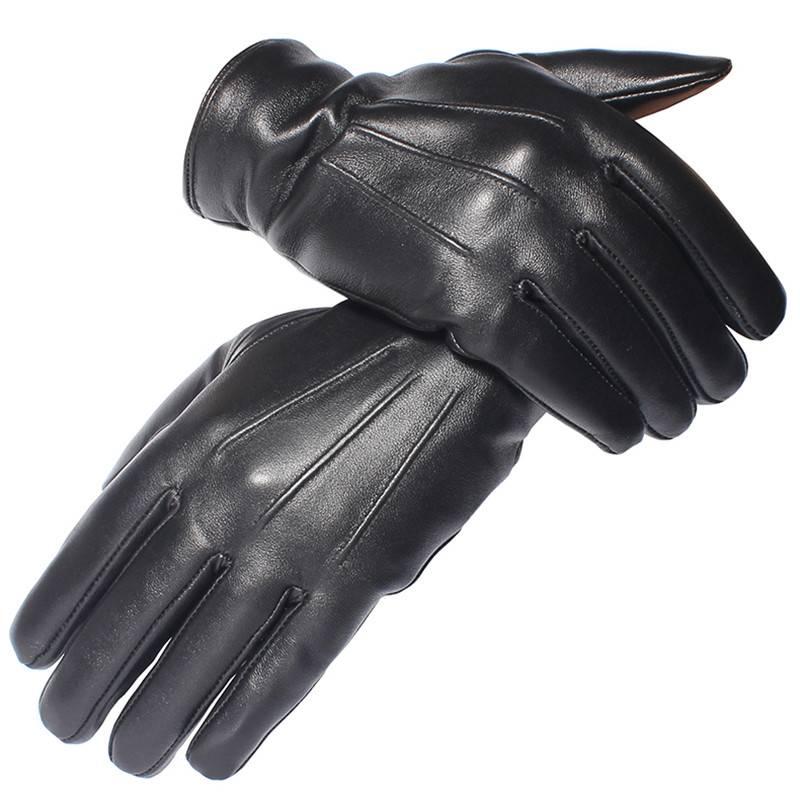 Men's Genuine Leather Gloves Accessories Gloves & Mittens Men's Clothing & Accessories