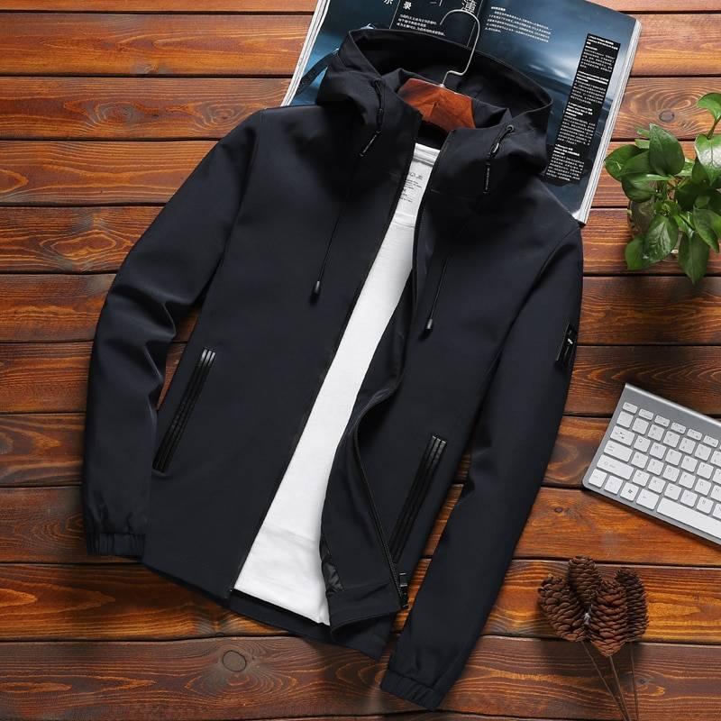 Men's Casual Hooded Autumn Jacket Jackets Jackets & Coats Men's Clothing & Accessories