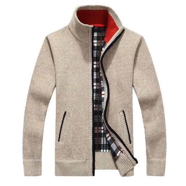 Men's Warm Thick Velvet Jacket Jackets Jackets & Coats Men's Clothing & Accessories