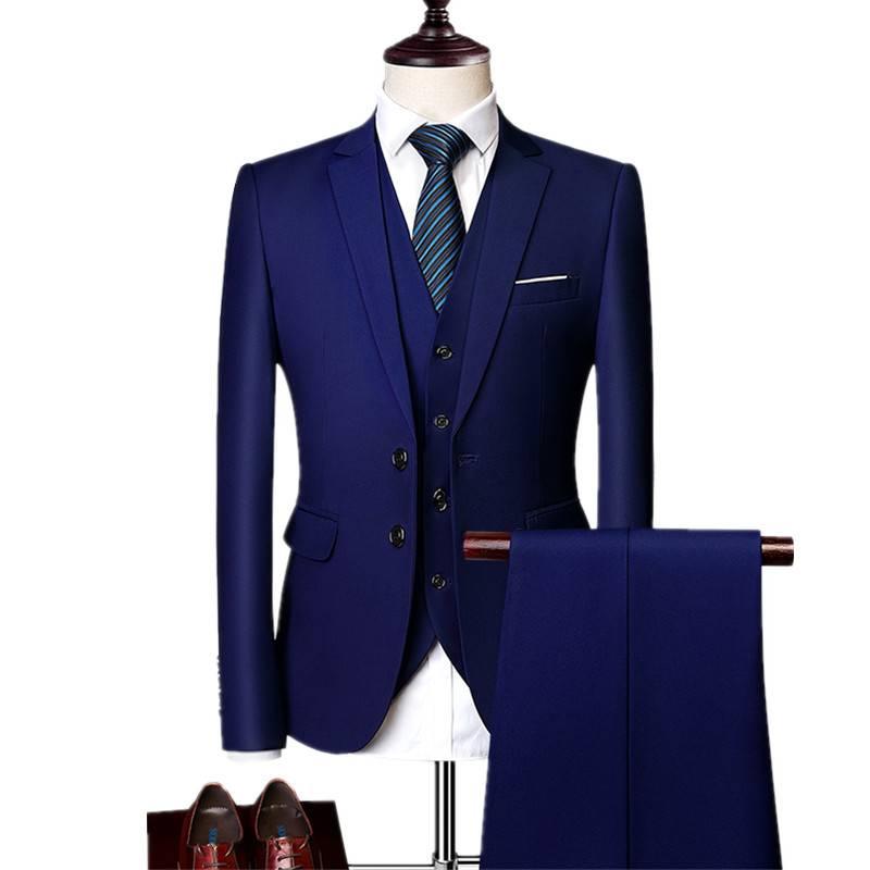 Men's Evening Suit Set 2 or 3 pcs Men's Clothing & Accessories Suits Suits & Blazers