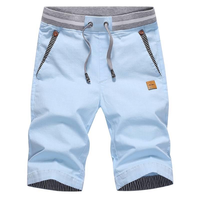 Fashion Summer Breathable Cotton Men's Shorts BOTTOMS Men's Clothing & Accessories Shorts