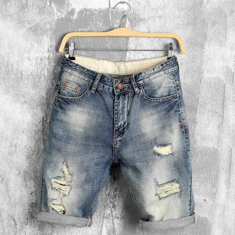 Men's Denim Bermuda Shorts BOTTOMS Men's Clothing & Accessories Shorts