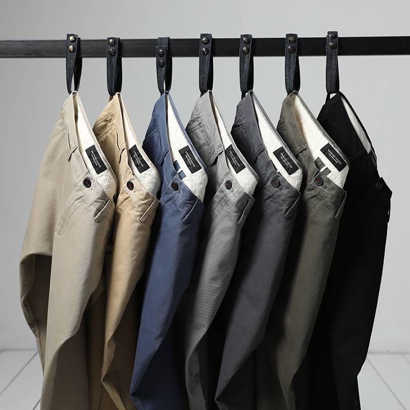 Men's Slim Fit Trousers BOTTOMS Men's Clothing & Accessories Pants Pants / Trousers