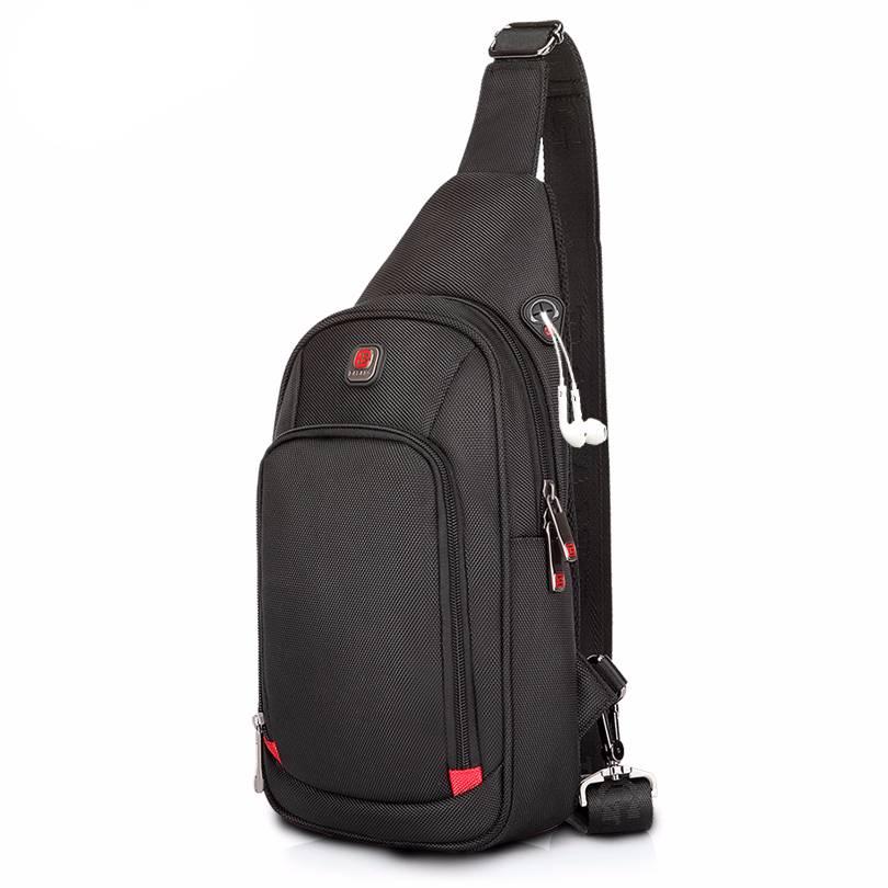 Men's Sport Sling Bag Crossbody Bags Men Bags & Wallets