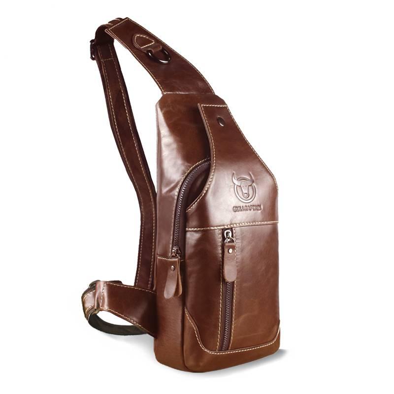 Genuine Leather Crossbody Bag Crossbody Bags Men Bags & Wallets