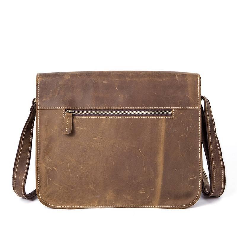 Men's Vintage Leather Bag Crossbody Bags Men Bags & Wallets