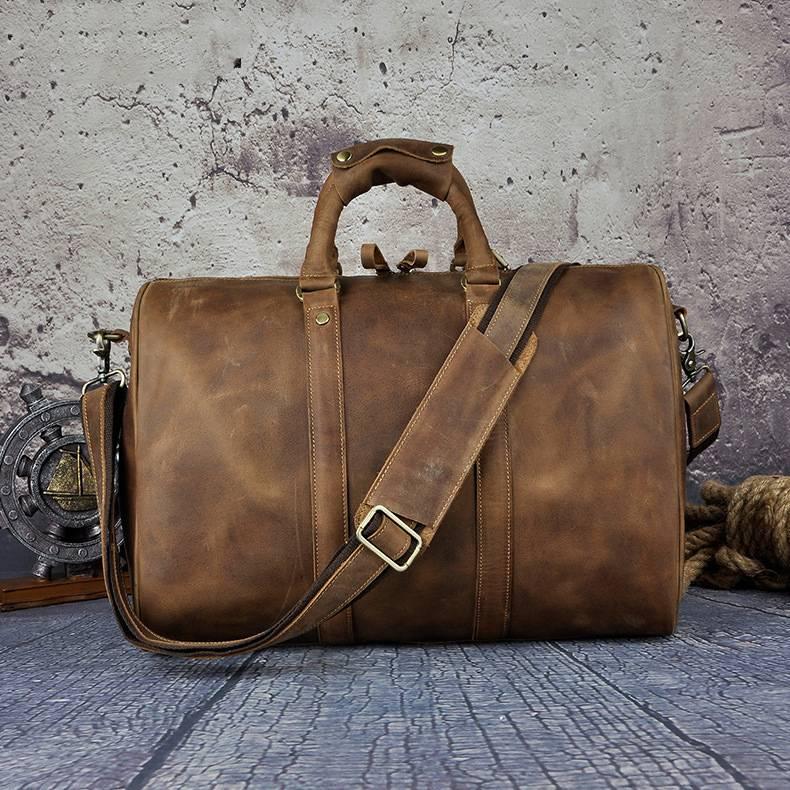 Genuine Leather Men's Messenger Bag Men Bags & Wallets Totes
