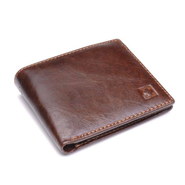 Men's Leather Wallet Men Bags & Wallets Wallets Color : Black|Brown
