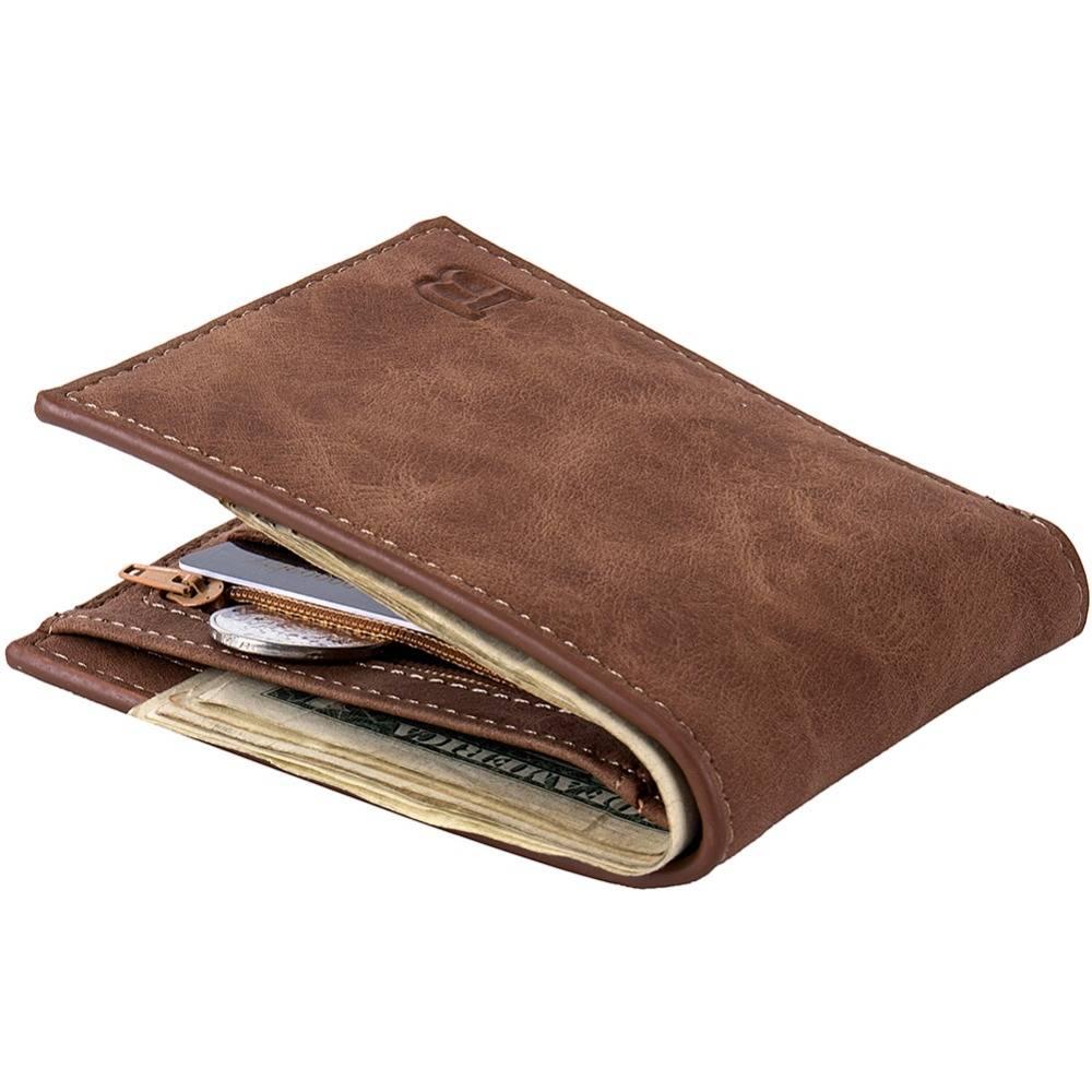 Men's Vintage Leather Wallet Men Bags & Wallets Wallets