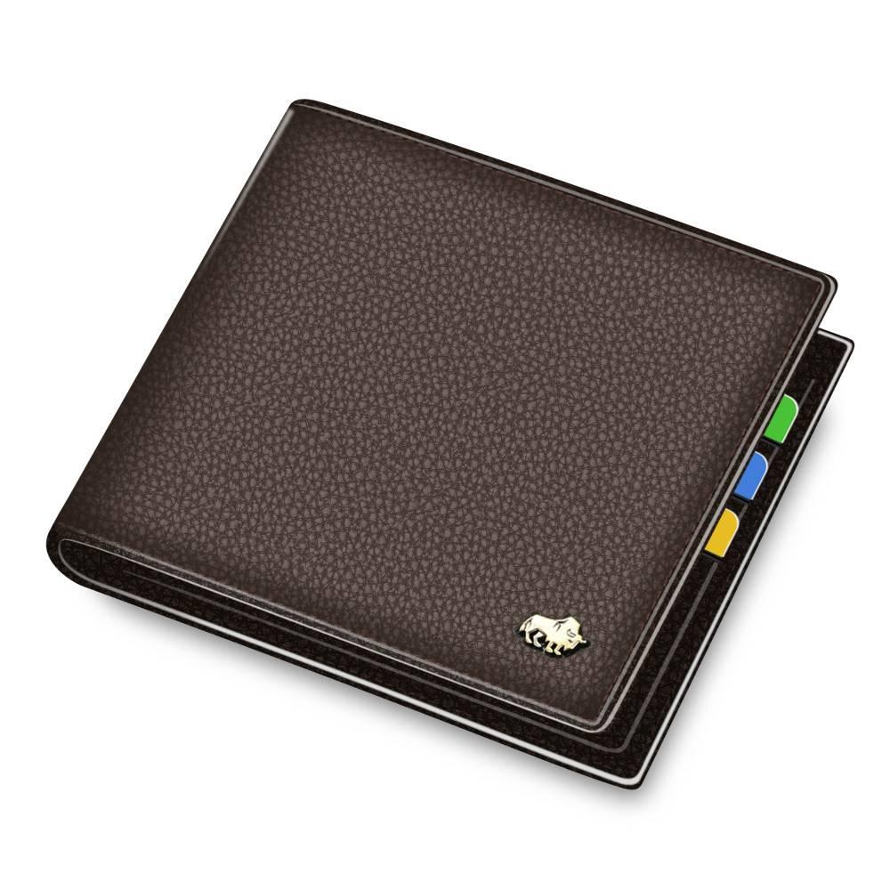 Elegant Leather Wallet Men Bags & Wallets Wallets