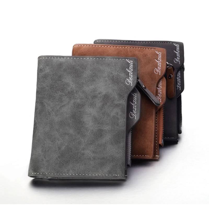 Men's Soft Leather Wallet Men Bags & Wallets Wallets