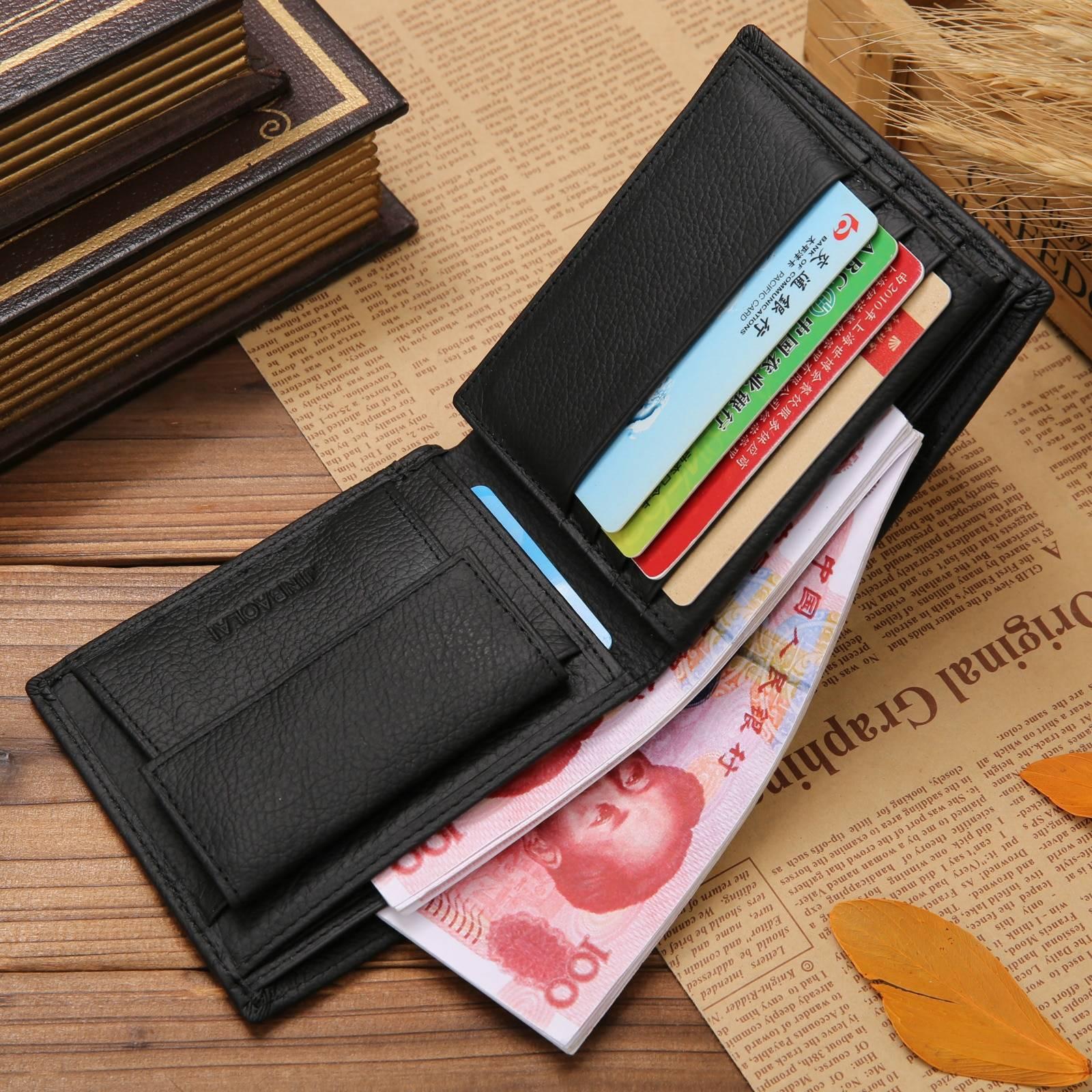 Men's Leather Wallet Men Bags & Wallets Wallets